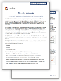 Mvine For Diversity Networks