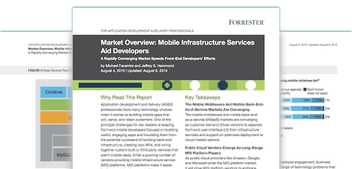 Market Overview: Mobile Infrastructure Services Aid Developers